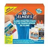 Elmer's 2050943 Schleim-Starter-Set (Glitzer-Gelschreiber, Schleim-Aktivator Lösung) 8Stück transparent