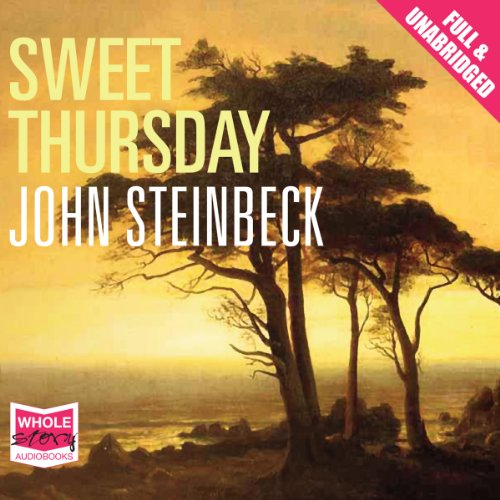 Sweet Thursday audiobook cover art