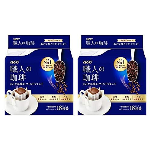 Two mild Blend 18P × of Coffee drip Mellow Taste UCC Craftsman
