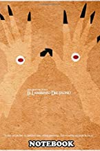 """Notebook: El Laberinto Del Fauno Minimalist Movie Poster , Journal for Writing, College Ruled Size 6"""" x 9"""", 110 Pages"""