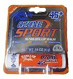 Hawaiian Tropic Ozone Sport Sunblock Lip Balm, 45 SPF, Citrus Flavor 0.14 oz (4 g) 2 Pack.