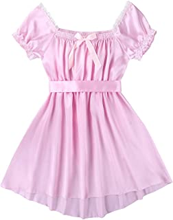 pink frilly sissy dress
