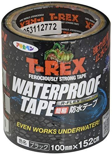 T-REX ウォータープルーフテープ 100mm×152cmブラック