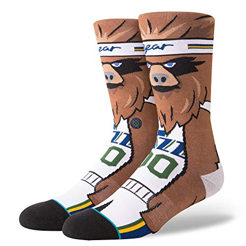 Stance NBA Utah Jazz The Bear Calcetines Hombre Marrón