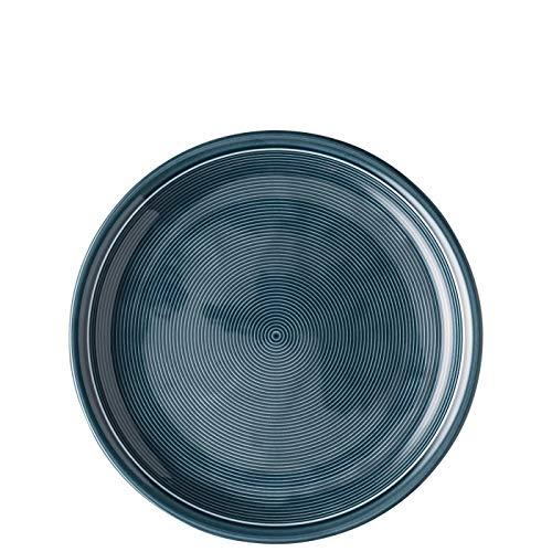 Thomas Trend Colours/Farben - Speiseteller 26 cm - 2er-Set - Essteller Teller Platte Hauptteller Geschirr Porzellan (Night Blue (Nacht-Blau), 2 Stück)