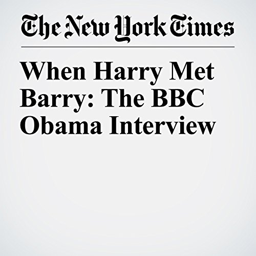 When Harry Met Barry: The BBC Obama Interview copertina