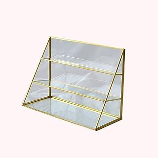 Nai-storage Caja de Almacenamiento Caja plástica y estética, de múltiples Funciones de Rack Joyero Cosmética, Complementos cosméticos de Maquillaje Caja de Almacenamiento (Size : A)