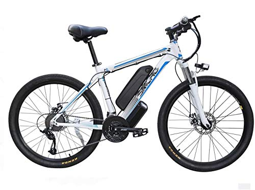 Bicicleta eléctrica MTB de 26 pulgadas Adult Smart Mountain Bike, 48 V/10...