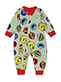 Sesame Street Elmo Cookie Monster Infant Toddler Footless Sleeper Pajamas (3T, Gray)