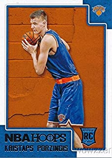 Kristaps Porzingis 2015/2016 Panini Hoops NBA Basketball #261 ROOKIE Card in MINT Condition! Shipped in Ultra Pro Snap Card Holder to Protect it! Awesome ROOKIE of New York Knick's Future Star!