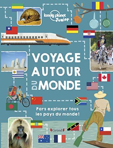 Voyage autour du monde – Beau livre et guide jeunesse des 200 pays – À partir de 8 ans