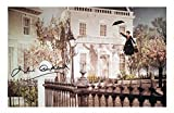 Julie Andrews - Mary Poppins Autogramme Signiert 21cm x