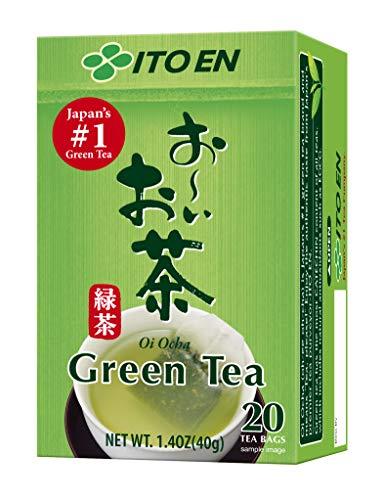 Ito En Oi Ocha Green Tea, 20-Count, 1.4 Ounce Boxes (Pack of 4)