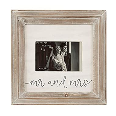 Mud Pie Mrs. Picture Frame, Brown