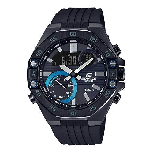 Casio Edifice Bluetooth Chronograph Blue Dial Men's Watch - ECB-10PB-1ADF(ED496)