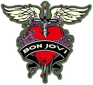 Bon Jovi rock Vynil Car Sticker Decal - Select Size