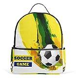 Mochila deportiva de fútbol para mujeres, adolescentes, niñas, bolso de moda, para viajes, universidad, casual, para niños