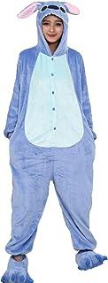 Pijama Kigurumi - Confeccionado en una pieza - Ideal incluso como disfraz de animal para carnaval, Halloween, fiestas cosp...