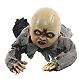 iPawde Halloween Krabbeln Baby Horror Zombie Elektronische Lichtempfindliche Horror Zombie Halloween...