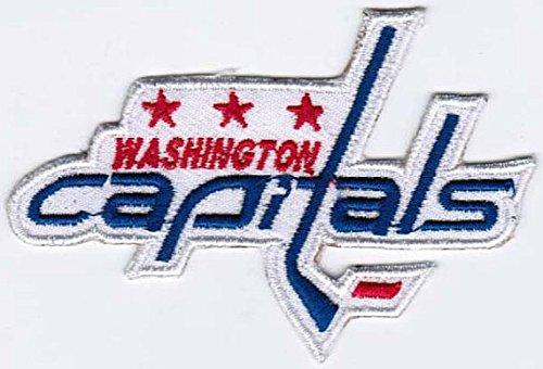 MAREL Patch Washington Capitals National Hockey League NHL Stickerei 7,6 x 7,3 Replik