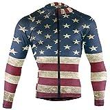 DerlonKaje Vintage Patriotic 3D American Flag...
