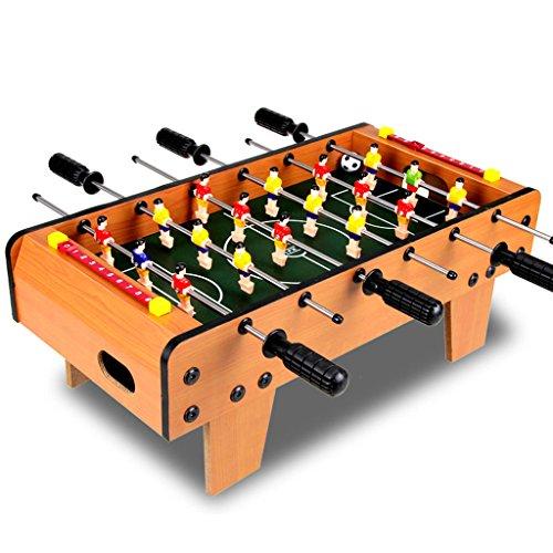 Chunse 6 Stangen Desktop-Fußball, 2 Personen Fußball-Spielzeug-Spiele, Tischfußball Sportbrett, Mini-Indoor-Spielzeug, Family Football-Spiel, Holzspielzeug