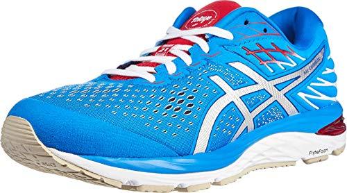 ASICS Men's Gel-Cumulus 21 Running Shoes, 11M, Electric Blue/White