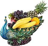 Scultura,Cesta De Frutas Tazón De Frutas Creativo De Lujo Mesa De Centro Sala De Estar Hogar Estilo Europeo Plato De Frutas Plato De Frutas