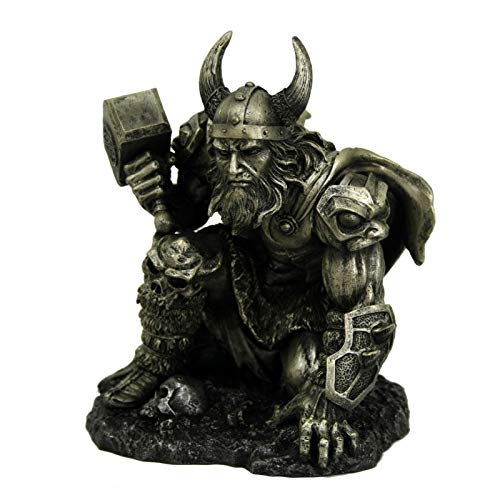 Pacific Giftware Norse Mythology Odinson Thor with Hammer Collectible Figurine