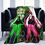 Marie and Callie Splatooon! Ultra-Soft Micro Fleece Blanket Warm Flannel Throw Blanket Plush Couch Bed for Home Decor 60'X 50'