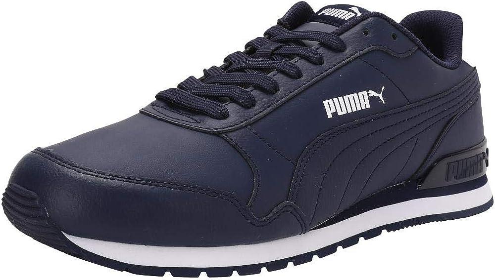 puma st runner v2 full l, scarpe sneakers unisex,  in pelle 365277c