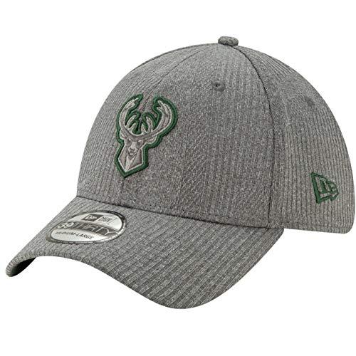 New Era Gorra 39Thirty Training BucksEra de Baseball NBA Cap (L/XL (58-60 cm) - Antracita)