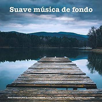 Suave música de fondo:Piano tranquilo para la relajación, el masaje, el spa, la curación, la meditación, el sueño y la relajación