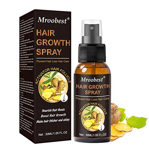 Haarwachstum Spray, Hair Growth Spray, Haar Wachstum Serum, Haarausfall und Haar-Behandlung, Neues Haarwachstum stimuliert, fördert dickeres, Volleres und schneller wachsenden Haar