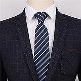 Cravate décontractée en jacquard de cravate en soie pour hommes 018 7 * 145 * 3.5cm
