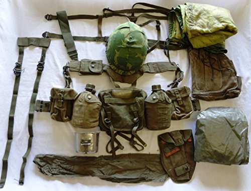 Find Discount Moore Militaria US Army Complete Field Gear Package VG