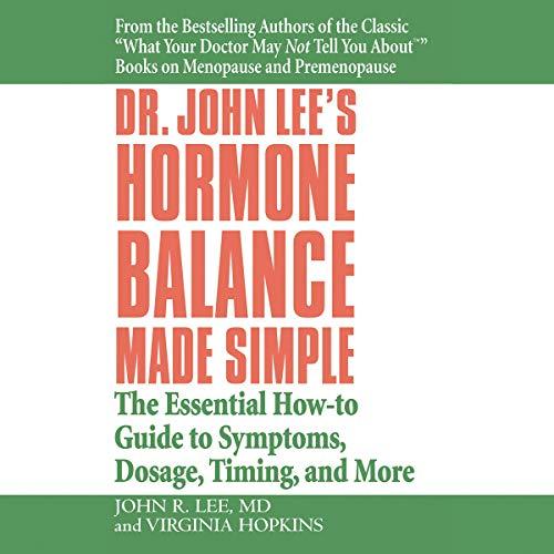 Dr. John Lee's Hormone Balance Made Simple audiobook cover art