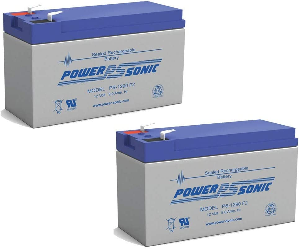 Power Nippon regular agency Sonic 12V 9AH New arrival Replacement Battery HRC1234W Pack for 2 BB -