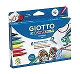 Giotto Decor Textile Rotuladores para Tejidos,...