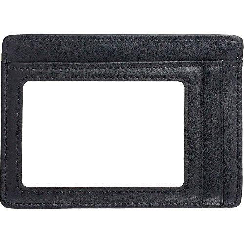 Enuo Porta Carte di Credito Uomo Portafoglio Uomo Borsa Uomo Portafoglio Pelle Borsellino RFID Wallet