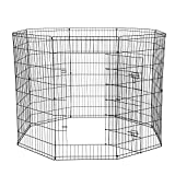 Dog Exercise Pen Pet Playpens for XX-Large Dogs - Puppy Playpen Outdoor Back or Front Yard...