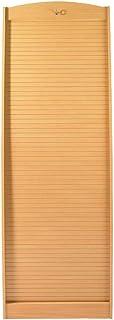SIMMOB Armoire Informatique Galbee Largeur 60 cm-Coloris-Hêtre