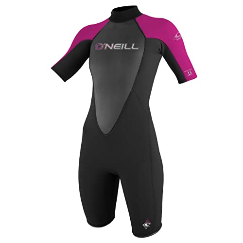 9be99cfc16 O Neill Women s Reactor 2mm Short Sleeve Back Zip Spring Wetsuit