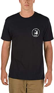 Vans Mens Yusuke Skater Death T-Shirt Black/White VN0A36FVBLK