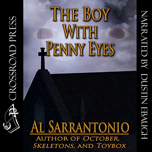 The Boy with Penny Eyes audiobook cover art