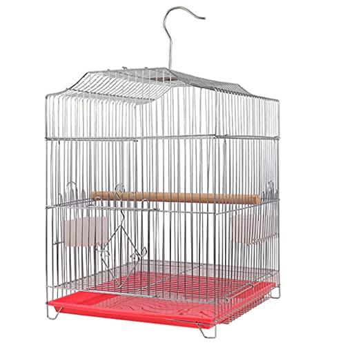 jaula De Cría De Metal Grande para Periquitos Grande De Metal Ornamental para El Hogar para Loros Myna Pájaros Ornamentales para Interiores Domésticos (Color Aleatorio)