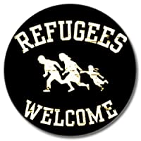 Refugees Welcome Button 25 mm