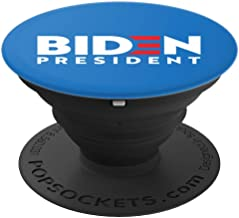 Joe Biden for President - Blue Style PopSockets Grip and Stand for Phones and Tablets