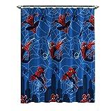 Marvel Spiderman Hero Mikrofaser-Duschvorhang