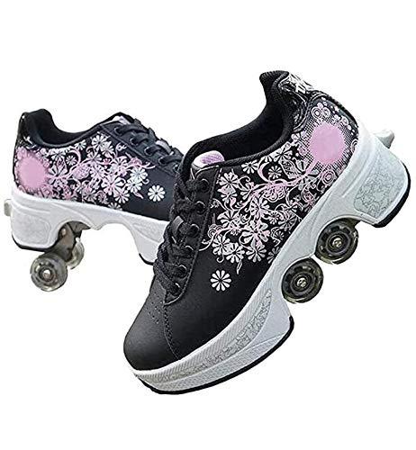 nnn Sportschoenen, skateboard, modieus, rollerblades sneakers, jongens en meisjes, loopschoenen, sneakers, trainer, gymnastiek, sneakers met wieltjes, skateboardschoenen, ademend